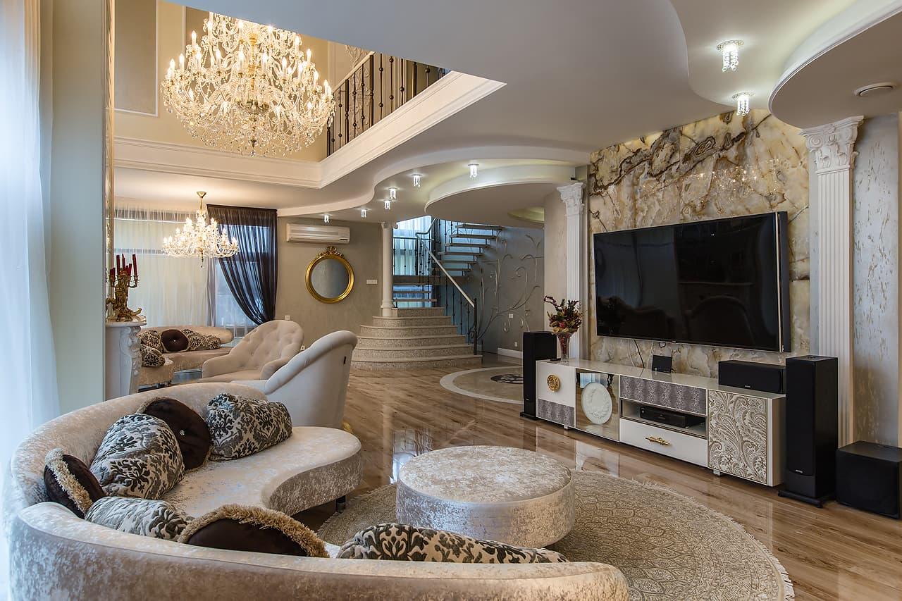 Идеи дизайна холла в частном доме