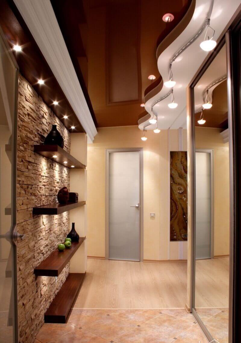 узкий коридор дизайн интерьер идеи и решения