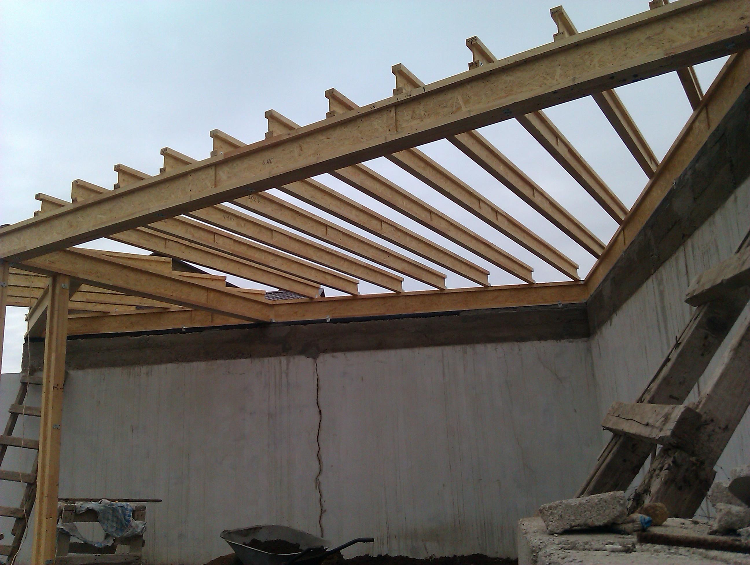 Деревянные двутавровые балки перекрытия: технические нюансы технологии строительства