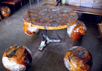 эпоксидный стол своими руками