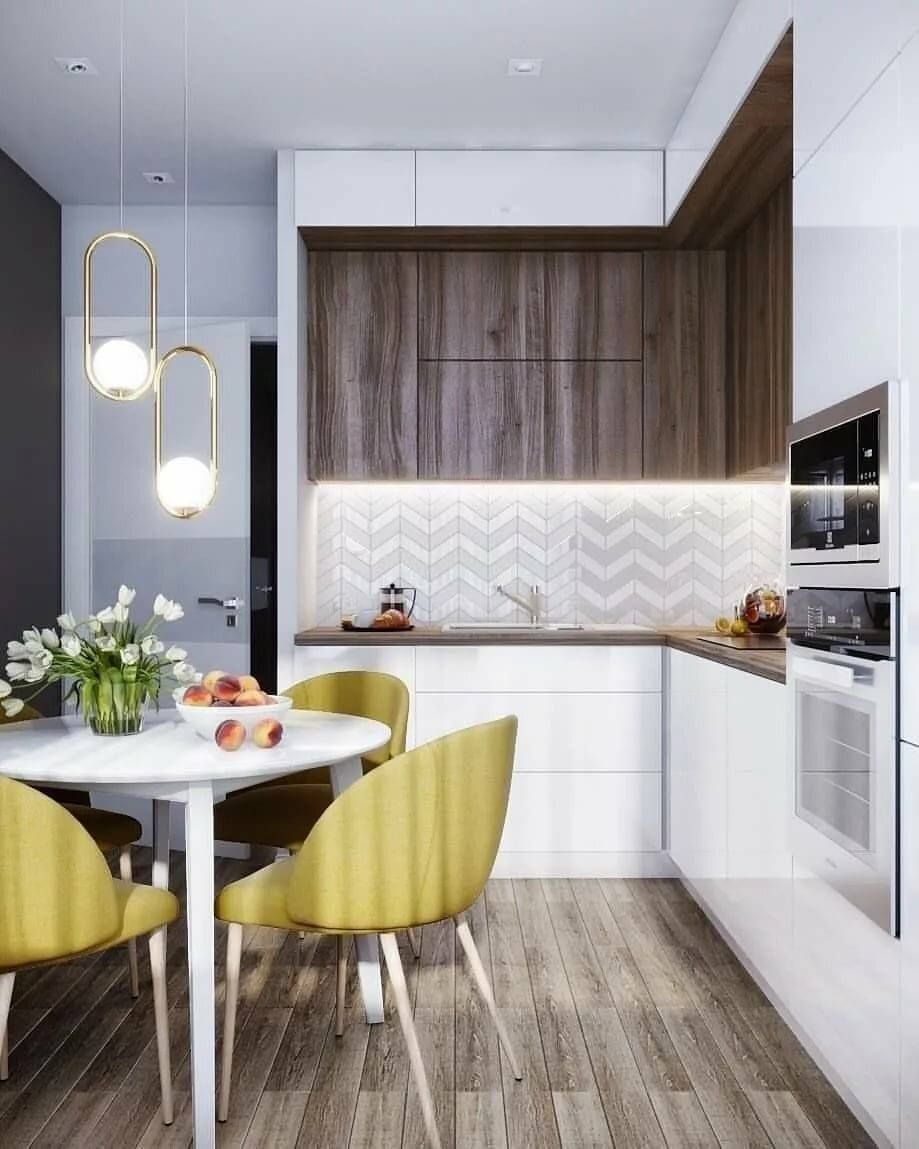 современные стильные кухни