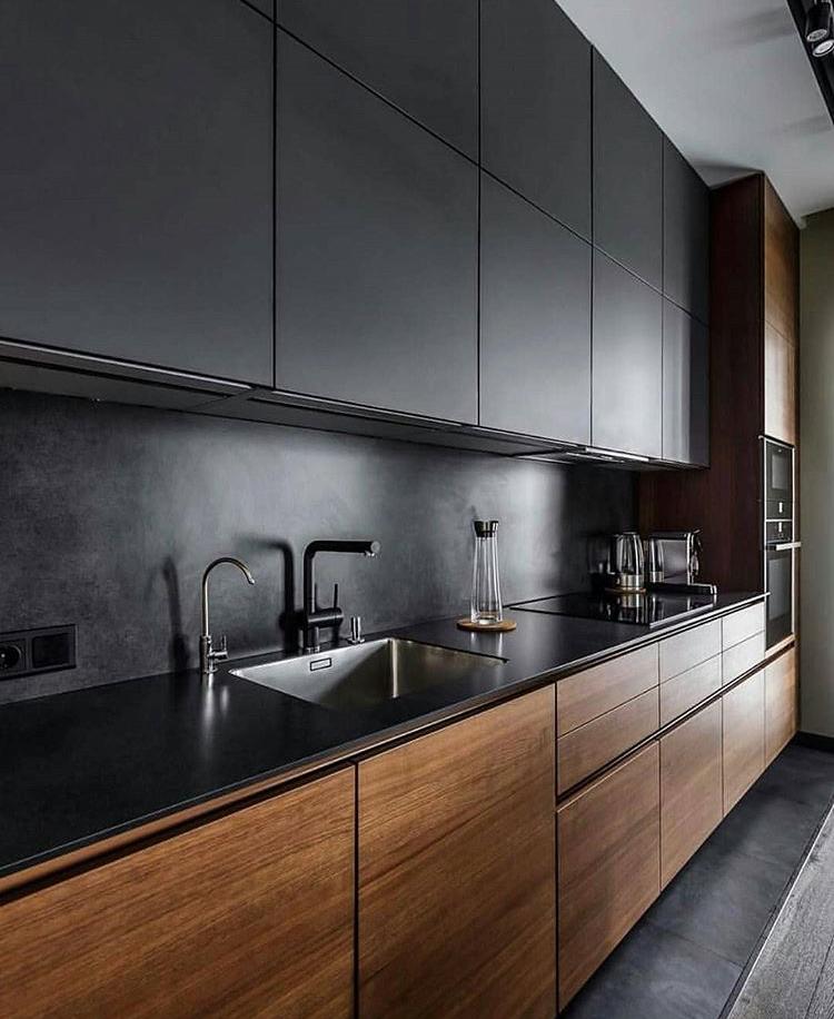 фото кухонных гарнитуров современных