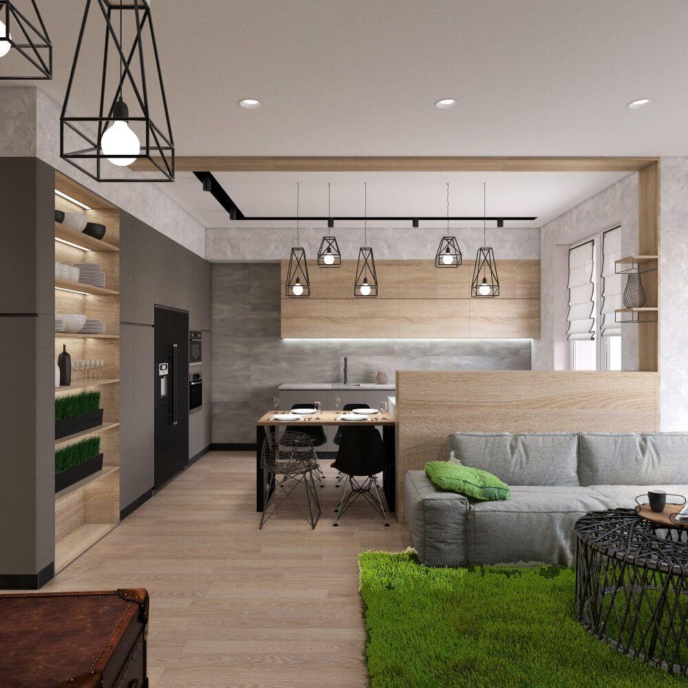 Кухня-студия: планировка и варианты дизайна