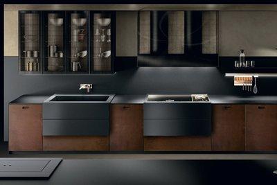 Дизайн современной кухни с деревянным гарнитуром