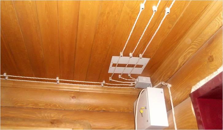 разводка электрики по полу