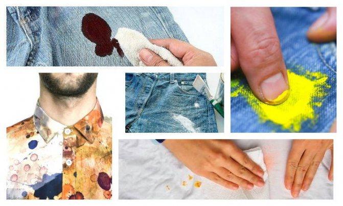 Как отстирать акриловую краску - 80 фото и видео как в домашних условиях отмыть краску с одежды
