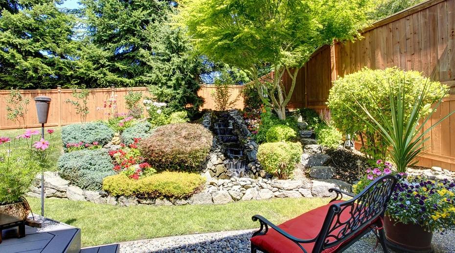 ландшафтный дизайн садового участка 4 сотки