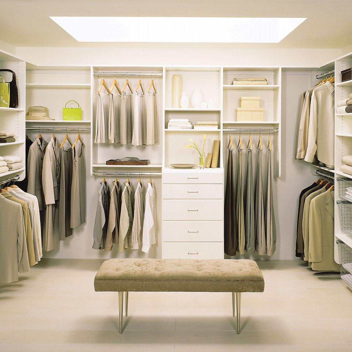 Популярные проекты гардеробных комнат