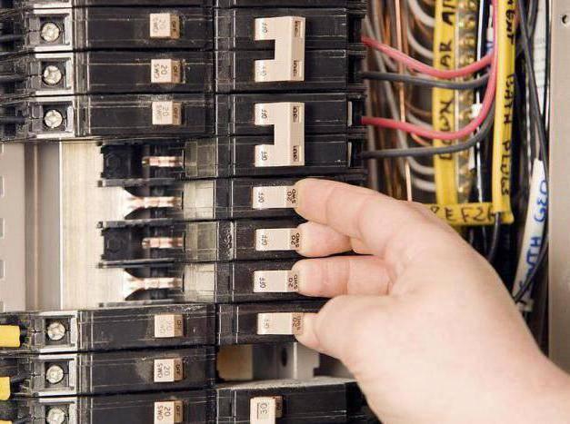 Расключение электрического щитка