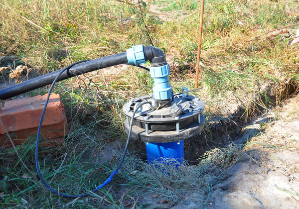 Водоснабжение загородного дома из скважины.