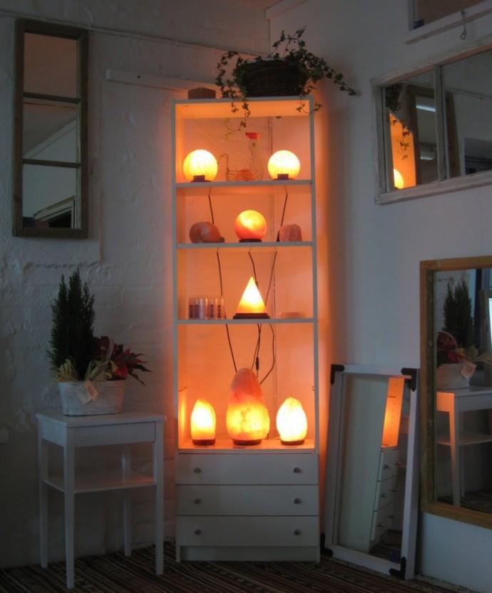 Солевая (соляная) лампа скала | тест, впечатления и фото