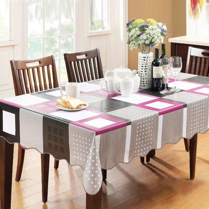Клеенка на стол для кухни: виды и выбор