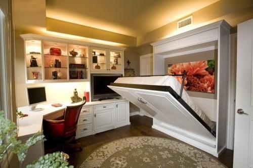 Мебель-трансформер для малогабаритной квартиры: кровать, шкаф