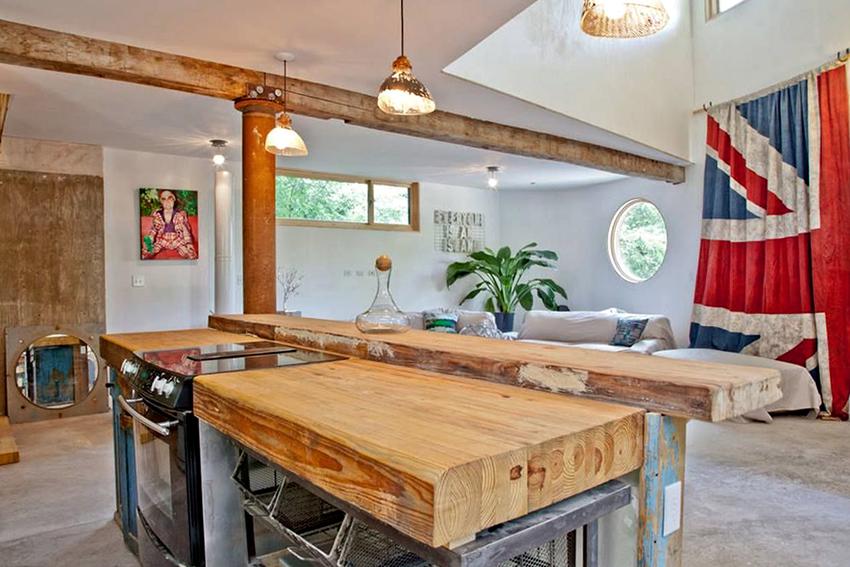 Как сделать столешницу для кухни своими руками из дерева