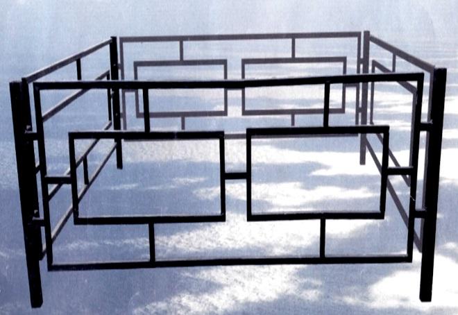 Ограда на могилу (кладбище) своими руками: как сделать, установить