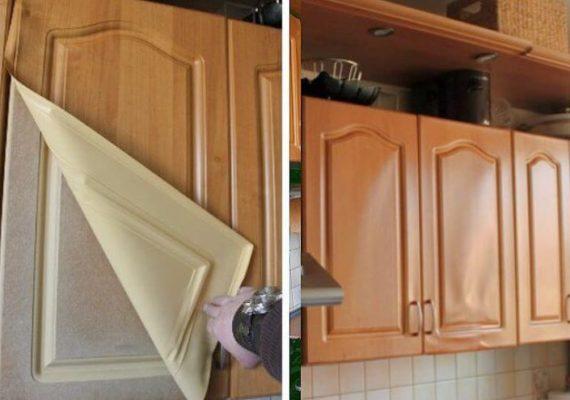 поменять фасады на кухонном гарнитуре