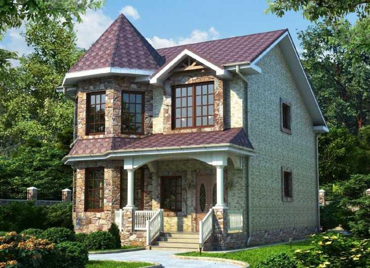 Проекты современных домов: их разновидности, используемые материалы и примеры на фото