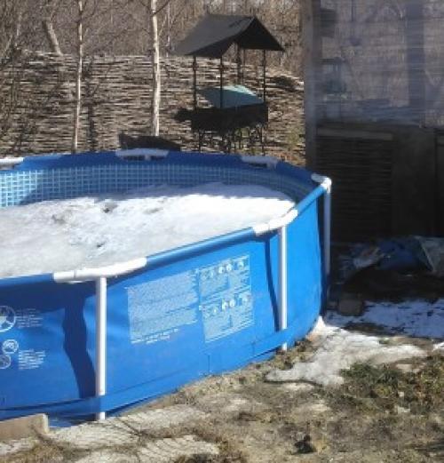 Как правильно хранить бассейн зимой: условия и особенности, видео