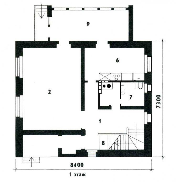 Планировка двухэтажного дома: интересные проекты и удачные решения по выбору дизайна экстерьера (105 фото)