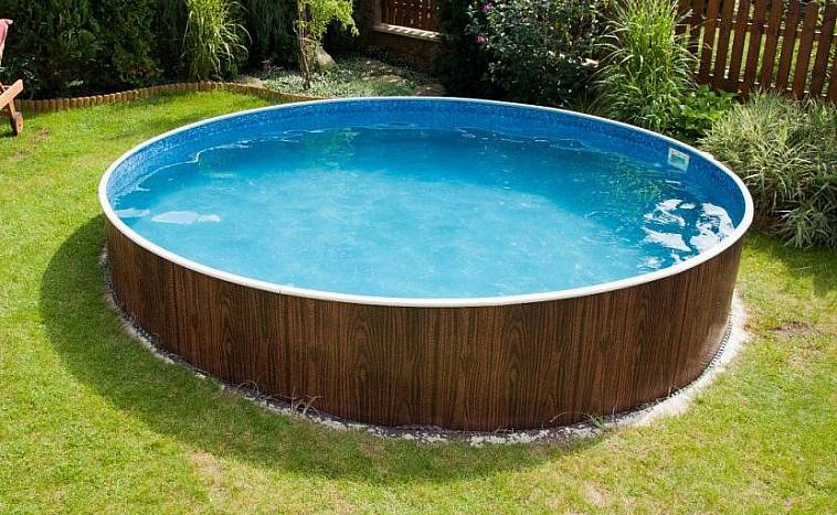 бассейн для дачи уличный каркасный