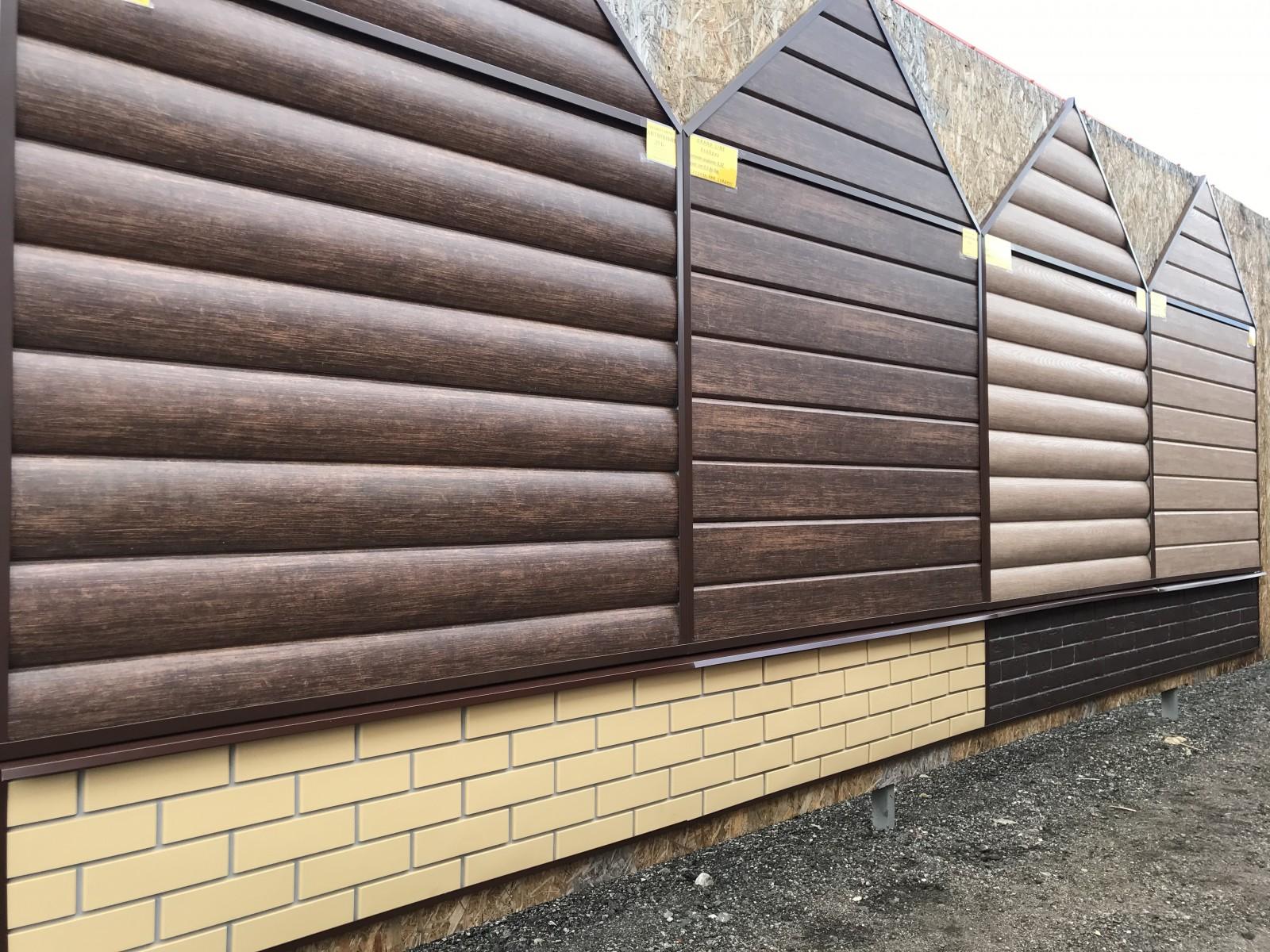 Отделка фасада дома сайдингом – виды, особенности материалов и нюансы их использования