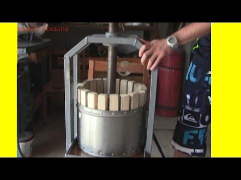 Как сделать соковыжималку своими руками из подручных материалов