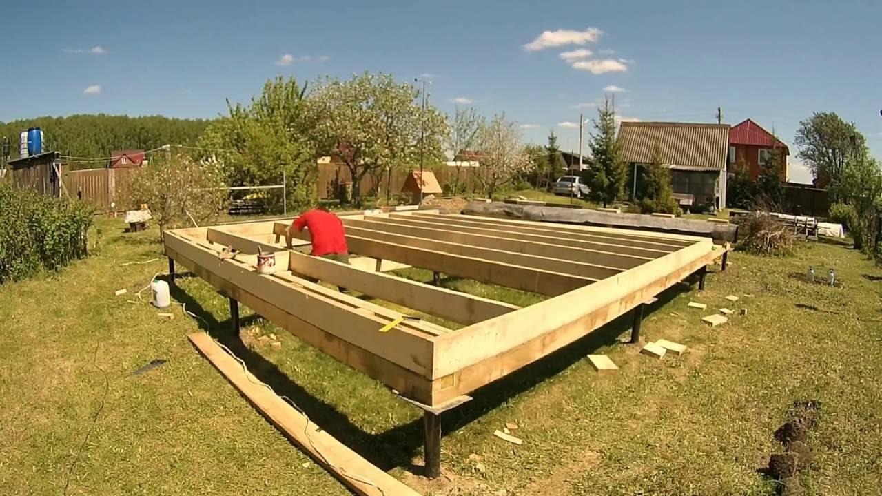 видео как строят дома