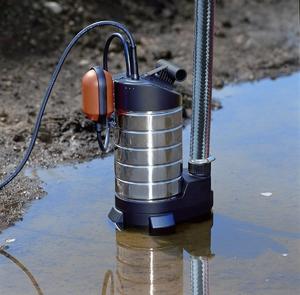насос для откачки воды с пола насухо