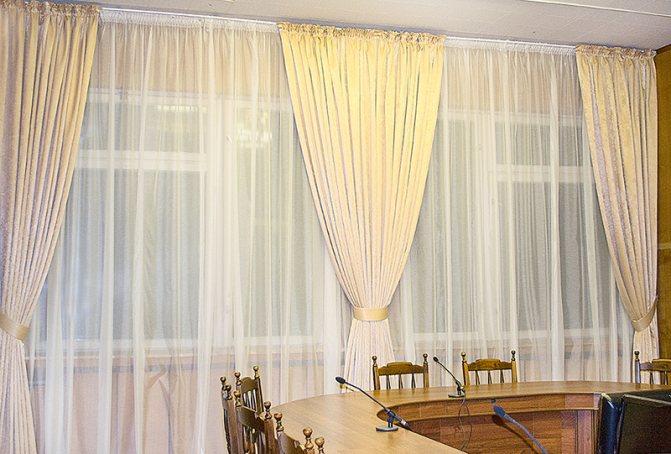 Как рассчитать ткань на шторы: как определить размер, высоту, длину и ширину