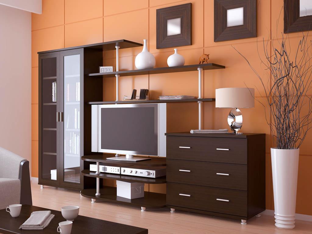 Стенка горка в гостиную: современные и стильные варианты применения в интерьере (105 фото)