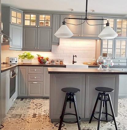 35 кухонь ikea в интерьере