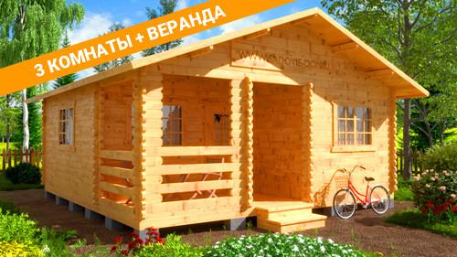 небольшие дачные дома