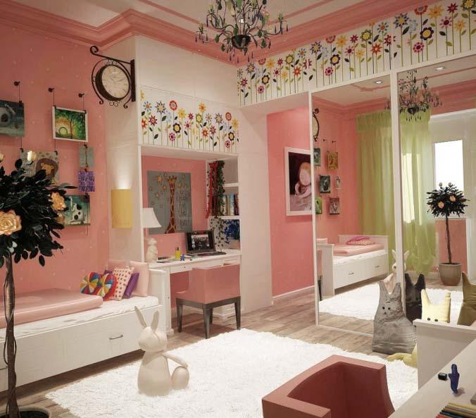 дизайн комнаты для девочки 10 лет