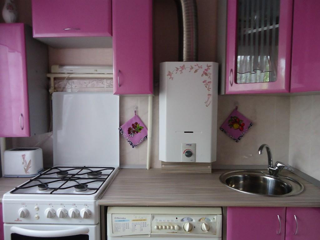 Дизайн кухни с газовым котлом: актуальные вопросы и способы решения