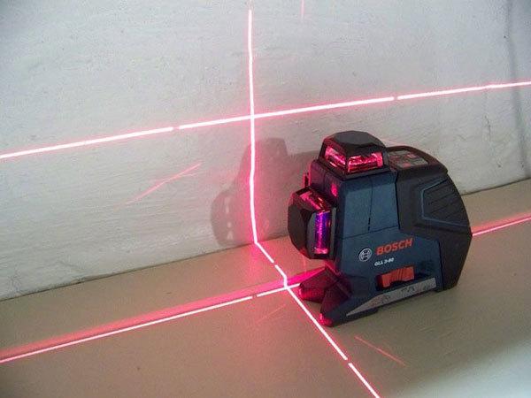 Самовыравнивающийся лазерный уровень: инструкция к применению