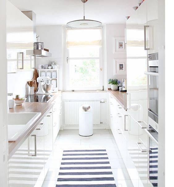 Дизайн прямой кухни: реальные фото, советы дизайнеров, плюсы и минусы