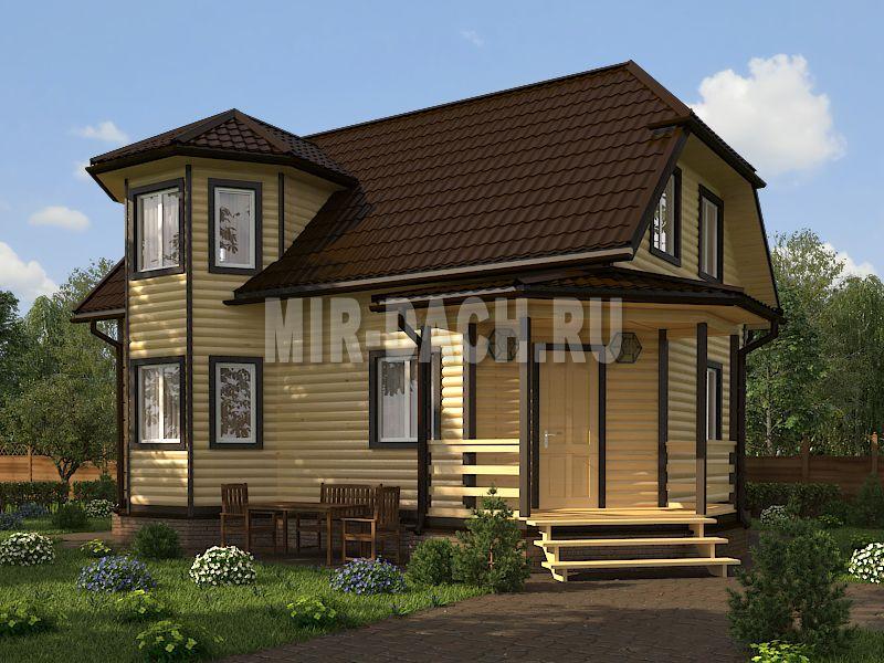 Планировка дома 8 на 9: одноэтажный, мансардный и двухэтажный проекты
