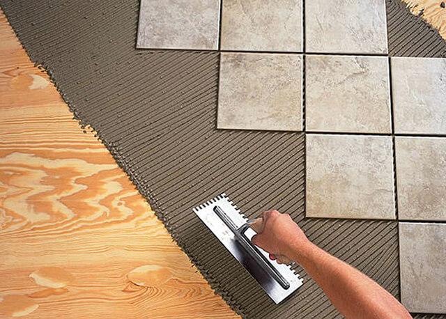 Как положить плитку на фанеру на пол правильно своими руками