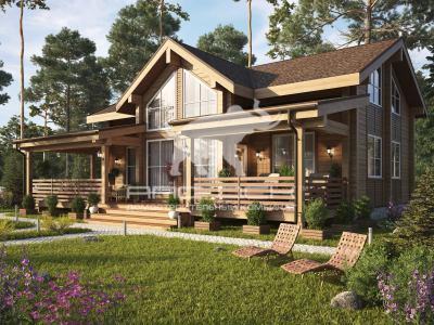 планы домов двухэтажных
