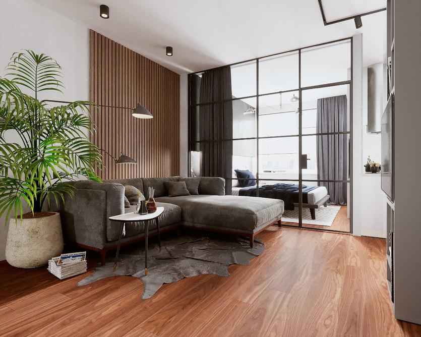 Перегородка из реек своими руками: крепление реечной перегородки для зонирования комнаты и монтаж деревянной межкомнатной перегородки