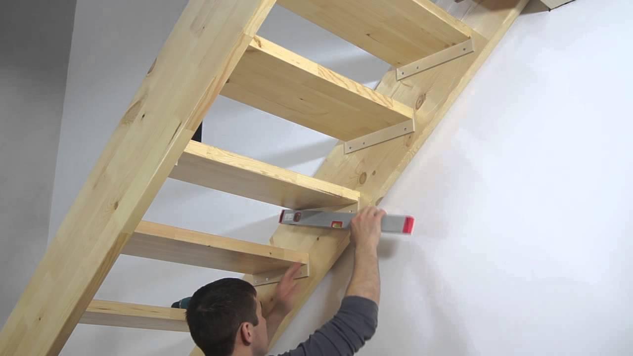 как собрать лестницу