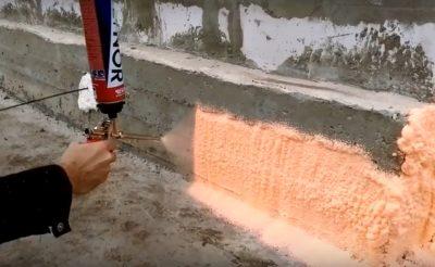 пена для утепления стен в баллонах цена