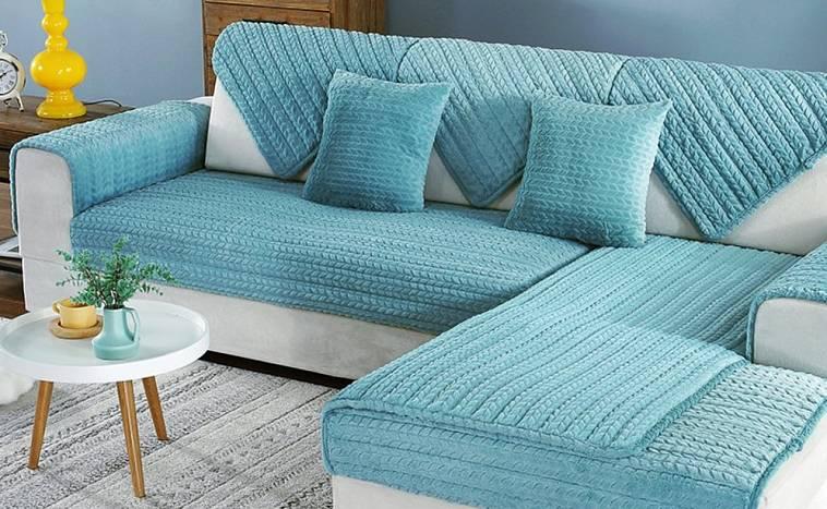 Чехлы на угловой диван своими руками: пошаговая инструкция, описание, фото - новости, статьи и обзоры