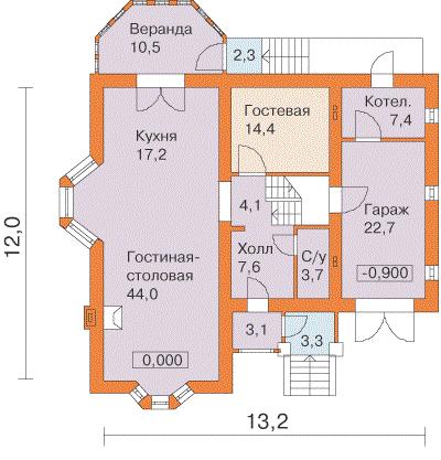 Второй этаж вчастном доме: варианты планировки идизайна (34 фото)