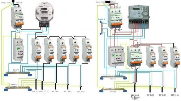 Опс-1: схема подключения, расшифровка электрика