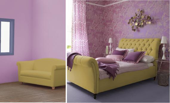Темно-фиолетовый цвет и сочетание с ним | lookcolor