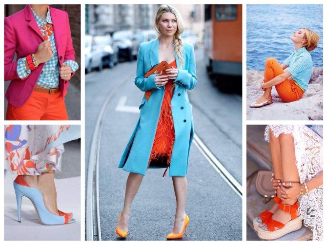 Сочетание цвета в одежде: теория и примеры   lookcolor