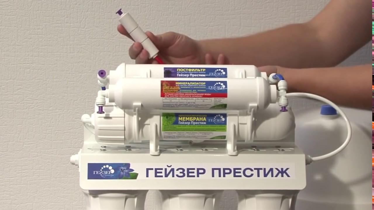 Инструкция к фильтрам гейзер-3ивж и гейзер-3ив