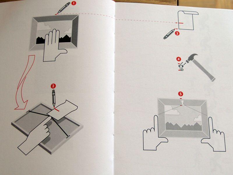 Как повесить картину на стену без сверления и гвоздей