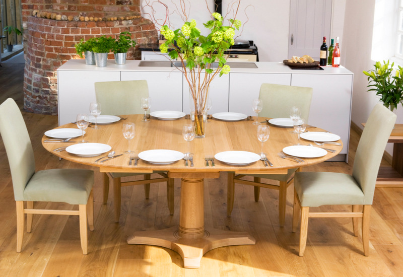 круглый стол на кухню раздвижной